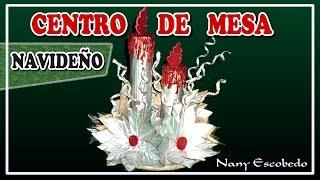 getlinkyoutube.com-CENTRO DE MESA NAVIDEÑO CON CAJAS DE TETRA PAK