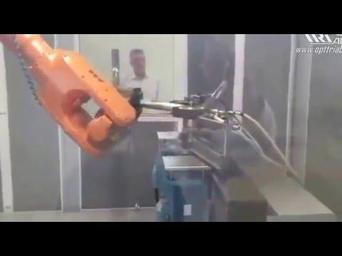 Производство CAN OTOMOTIV - полировка защиты бампера