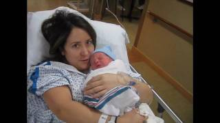 getlinkyoutube.com-Newborn baby! Mommy gets to hold baby for the first time.