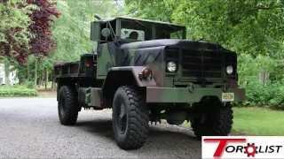 getlinkyoutube.com-M931A2 : Badass Bobbed 5 Ton, 8.3 Cummins Turbo Diesel, Allison Transmission, CTIS