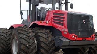 Cамые большие трактора в мире. Кировец серии К-9000