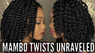 Unraveling Crochet Havana Mambo Twists | Before & After