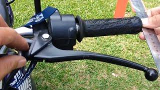 getlinkyoutube.com-Como Ajustar a Folga da Alavanca de Embreagem - CG 150 Titan