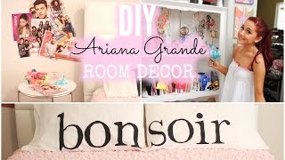 getlinkyoutube.com-DIY Ariana Grande Room Decor! Cheap & Simple!