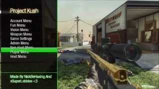getlinkyoutube.com-Black Ops 1 | Project Kush Mod Menu | CEX/DEX + Download [1.13]