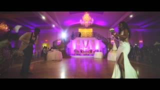 getlinkyoutube.com-M&R 43VA (Wedding Highlights) special guest Bisa Kdei