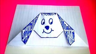 getlinkyoutube.com-оригами конверт собачка,идеи для личного дневника ( лд ) #16 \\ origami envelope dog