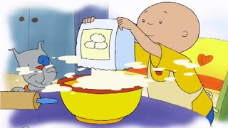 getlinkyoutube.com-Caillou Full Episode | Caillou's Family Dinner | New HD 2016 Full Caillou Episode | Cartoon for Kids