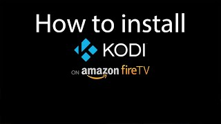 getlinkyoutube.com-How to install Kodi on Amazon Fire Tv Stick in 4 minutes