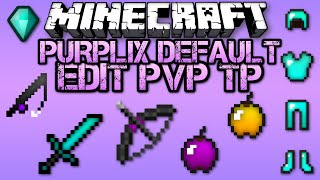 getlinkyoutube.com-♡ Minecraft PVP Texture Pack - Purplix Default Edit V2 ♡