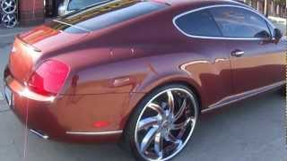getlinkyoutube.com-Trendsetters Dallas One of a kind Bentleys on 24in Forgiato Azioni's