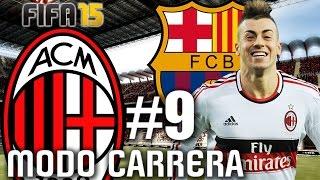 getlinkyoutube.com-FIFA 15: AC MILAN Modo Carrera #9 BARCELONA se quiere llevar a El Shaarawy