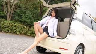 getlinkyoutube.com-ドライブ美人 ホンダ N-WGN 編 女医 佐野真彩の新型車診察しちゃうぞ!