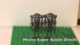getlinkyoutube.com-lego star wars/clone wars mocs, vehicles, custom clones and stuff
