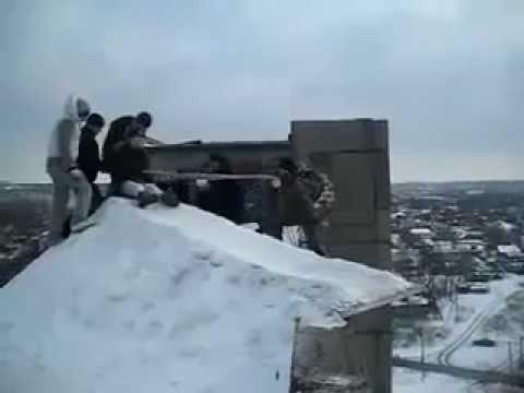 Naprosto šílená zábava ruské mládeže!