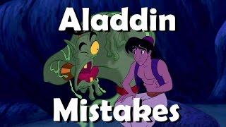 getlinkyoutube.com-DISNEY'S ALADDIN Movie Mistakes You Didn't Notice | ALADDIN Goofs