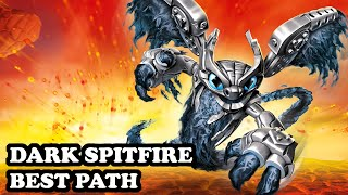 getlinkyoutube.com-Skylanders Superchargers - Dark Spitfire - Speed Demon Path - BEST PATH - GAMEPLAY