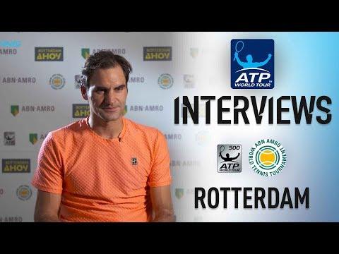Federer: `I Feel Like I Deserved To Win` Rotterdam 2018 SF