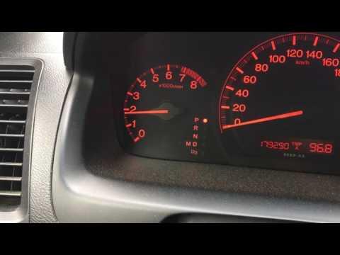 Прыгают обороты Honda Accord 7 2.0 Sport