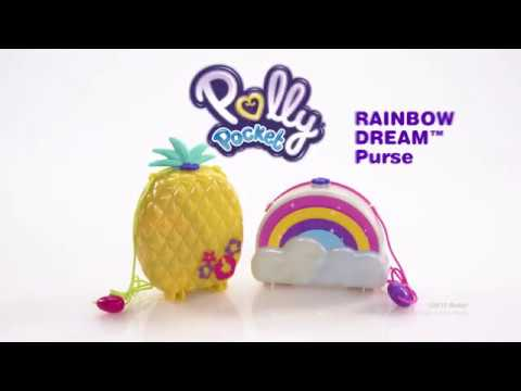Polly Pocket Large Wearable Compact - Assorted*