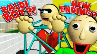 NEW MYSTERY ENDING?! (What does it mean...?) | Baldi's Basics (1.3 Update + Ending)