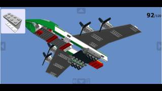 getlinkyoutube.com-how to make a lego cargo plane