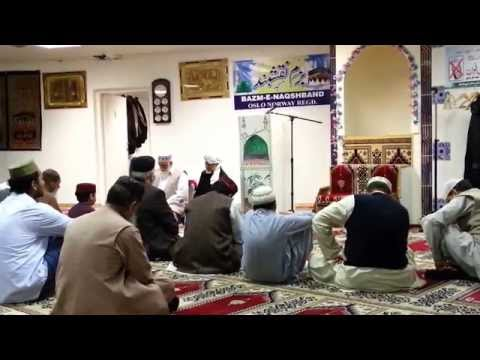 Shah sahib reciting Naat shareef