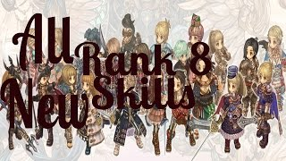 getlinkyoutube.com-All new rank 8 skills Tree of Savior