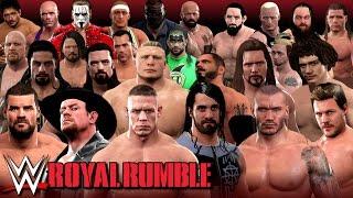 getlinkyoutube.com-WWE 2K17 - EPIC ROYAL RUMBLE With 15+ Surprise OMG Returns! (30 Man Rumble)