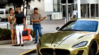 "getlinkyoutube.com-GOLD DIGGER Prank: Gold Maserati ""I Can Take Your Girl"" Part 1"