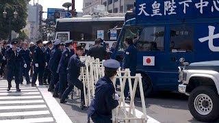 getlinkyoutube.com-鹿児島の反原発デモに右翼街宣車11台来襲!