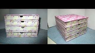 getlinkyoutube.com-DIY: Rivoli Storage (Jewelry box) /Mini cassettiera