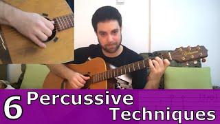 getlinkyoutube.com-6 Percussive Fingerstyle Techniques & 15 Exercises - Guitar Lesson w/ TAB