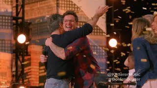Simon-Cowell-Presses-Golden-Buzzer-For-Father-Of-Six-Michael-Ketterer width=