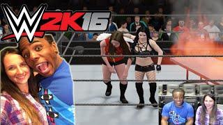 WWE 2K16 Diva Match w/ Xavier Woods !!