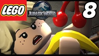 "getlinkyoutube.com-LEGO Jurassic World - Part 8 ""Visitor Center!"" (Gameplay Walkthrough 1080p)"