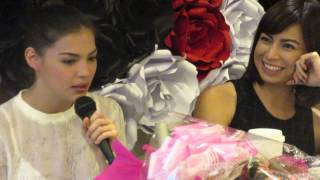 Rhian and Glaiza on each other's question about love
