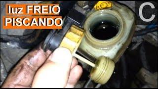 getlinkyoutube.com-Dr CARRO Luz Freio Piscando e o sensor nível fluído