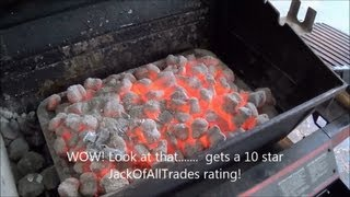 getlinkyoutube.com-How to get amazing red hot coals for any barbecue - Coal starter review