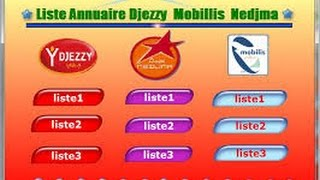 getlinkyoutube.com-Attention : Annuaire Djezzy Ooredoo Mobilis 2015-2016 Explication