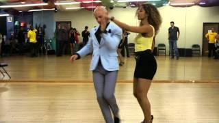 getlinkyoutube.com-Workshops (Salsa) - Island Touch LA - Ataca Y La Alemana 1st Los Angeles Workshop