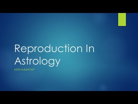 Reproduction In Astrology - Beeja Sphuta By Nitin Kashyap