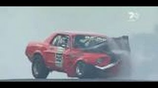 getlinkyoutube.com-BEST of Muscle Cars ( CRASH and FAIL ) pure sound EPIC