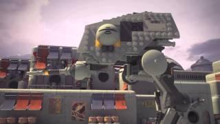 getlinkyoutube.com-Ezra vs AT-DP - LEGO Star Wars Rebels - 2015 Mini Movie Ep 03