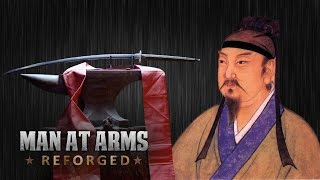 getlinkyoutube.com-400 Year-Old Dandao Sword - MAN AT ARMS: REFORGED