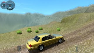 getlinkyoutube.com-City Car Driving 1.3.3 Ford Crown Victoria [1080p]