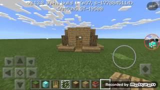 getlinkyoutube.com-Minecraft pe 13.0 redstone dan yapılan devreler