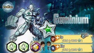 Silver Zodiac Mutant | Geminium |- Mutants: Genetic Gladiators