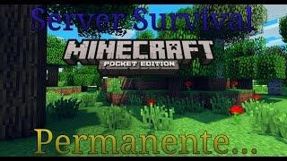 getlinkyoutube.com-Server Survival | Minecraft Pe 0.13.0 | TheAlanyk