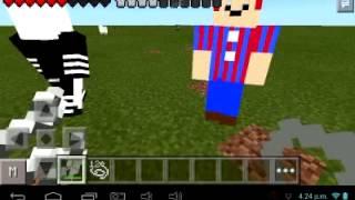 getlinkyoutube.com-Minecraft PE 0.10.5 FNaF 2 mod v2.5